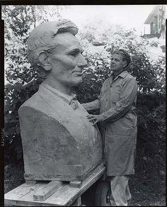 Ruth Nickerson, American sculptor, 1905-1997