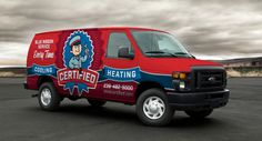 Vehicle wrap design for Certified Heating and Cooling, a HVAC company in Naples and Fort Myers, Florida. - NJ Advertising Agency, NJ Ad Agency, NJ Web Design, NJ Logo Design, Website Design New Jersey, NJ Graphic Designer, New Jersey Logo Design, Graphic Design NJ | Graphic D-Signs, Inc. #truckwraps #advertising #design #graphicdesign #logo #branddevelopment #vehiclewraps