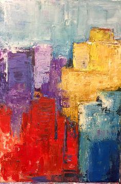 Abstract acrylic by andreas konstantatos
