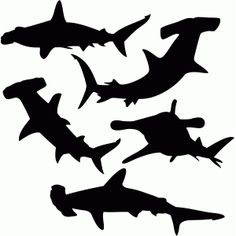 Silhouette Design Store - browse-daily-and-clearance Shark Silhouette, Animal Silhouette, Silhouette Machine, Silhouette Design, Fox Tattoo Design, Wood Craft Patterns, Shark Logo, Shark Art, Silhouette Cameo Projects