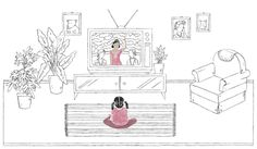 1/3 animated illustrations for the New York Times Magazine. ✏︎ What I Learned From Kristi Yamaguchi by Nichole Chung Go and Read! Thanks AD Linsey Fields