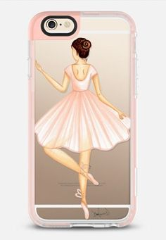 CASETiFY iPhone 6 Case - Ballerina by the pretty pink studio Iphone 6s Gold, Coque Iphone 6, Iphone 8, Girly Phone Cases, Iphone Cases Disney, Ballerina, Telephone Iphone, Friends Phone Case, Iphone Price