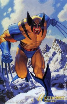 Marvel Masterprints Wolverine (1994) 1- Greg & Tim Hildebrandt Come on! How can you not have Wolverine on your team ?!?