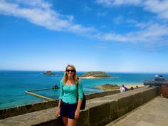 Tara Boudreau volunteered to spend six weeks in Saint Malo, France tutoring English to young children.