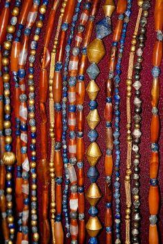 Sumerian necklaces from Ur C. 2600 BC