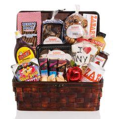 Zabar's NY Treasure Chest gift basket
