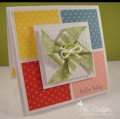 Pinwheel card.