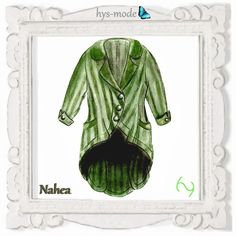 Tops & jasjes - Patroon Blazer NAHEA jas gelaagde look HYS-modus u - Een uniek product van bien-art_hys-mode op DaWanda