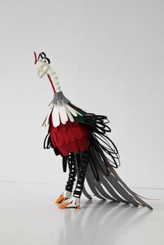 Update: Paper Bird Sculptures by Diana Beltran Herrera: