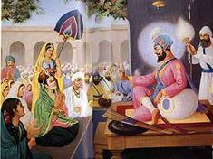 Untitled Document Guru Hargobind, Guru Gobind Singh, Religious Photos, Good Thoughts Quotes, Blessed, Turban, Painting, Blessings, Medicine