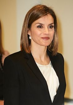 February 3,2016 Queen Letizia attends 'Por Un Enfoque Integral' Forum