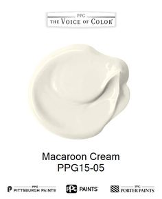 Macaroon Cream is a part of the  collection by PPG Voice of Color®. Browse this paint color and more collections for more paint color inspiration. Get this paint color tinted in PPG PITTSBURGH PAINTS®, PPG PORTER PAINTS® & or PPG PAINTS™ products.