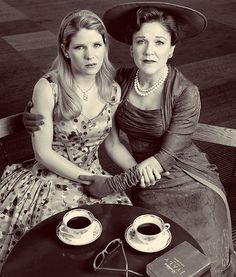 """Kelli O'Hara & Victoria Clark in """"The Light in the Piazza""""  Well, this links to my """"Likes"""" on tumblr. haha. But I just really love this."""