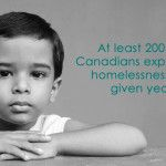 Multiple graphics for Keep the Promise that shed light upon child poverty in Canada.