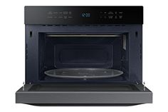 Samsung MC12J8035CT 1.2 cu. ft. Countertop Convection Microwave – Stainless Steel, Black  Samsung MC12J8035CT Microwave Oven MC12J8035CT/AA 212 POWER CONVECTION  Power convection technology combines traditional convection cooking with powerful hot air coming from the top, distributing the heat thoroughly and cooking faster than a standard convection microwave oven POWER CONVECTION  Power convection technology combines traditional convection cooking with powerful hot air coming from t..