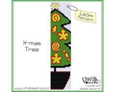 Bead Loom Pattern  Xmas Tree   INSTANT by VikisBeadingPatterns, $6.50
