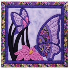 Butterfly Quilt Magic Kit-15-1/2X15-1/2