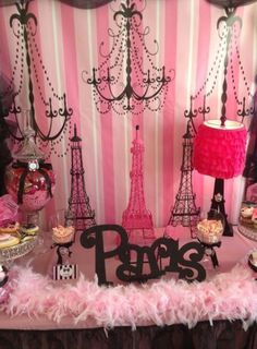 Definitely doing this French /Paris theme for my daughter Paris when she turns…  https://www.birthdays.durban