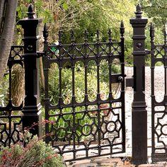 Cast Iron Gates   Cast Iron Fence   Savannah                              …