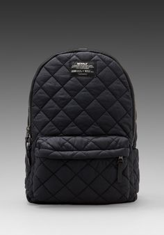 ECOALF Oslo Backpack Quilted in Black -