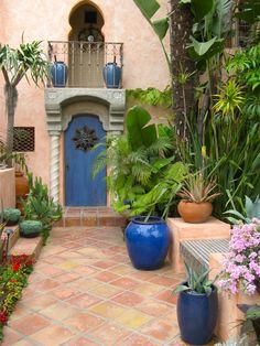 morrocan garden | Moroccan Garden on Pinterest | Yard Fencing, French Country Porch and ...