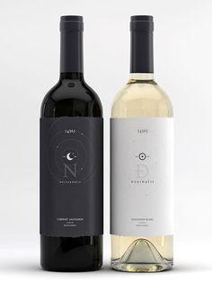33 diseños impresionantes de botellas de vino 16