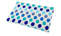 Dotty blanket - Sapphire – Feather The Nest