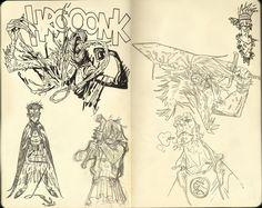 Sketchbook9 by buonaseraukulele.deviantart.com on @DeviantArt