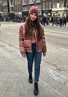 77 Winter Street Style Outfits To Keep You Stylish and Warm Winter Fashion Outfits, Fall Winter Outfits, Autumn Winter Fashion, Trendy Outfits, Cute Outfits, Winter Dresses, Outfits 2016, Autumn Style, Jeans Fashion