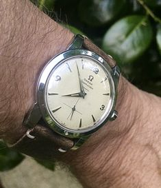 Vintage OMEGA Seamaster Bumper Automatic With Sub-Seconds In Stainless Steel Circa 1950s - https://omegaforums.net Omega Seamaster Omegaseamaster Menswear Mensfashion Wristshot Womw Wruw Horology Classic Timeless Watches Watchporn Fashion Style Preppy Montres Uhren Orologio Chrono Chronograph Bumperautomatic