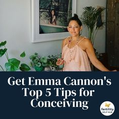 Click & sign up to our newsletter to receive Emma Cannon's free expert tips for successful conception👇