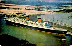 Flashback- she was at the port for awhile- I worked in the import shop for a lovely British man- they wanted to convert her into a hotel - but she was too much of a fire hazard . We had to sign to board so they could notify next of kin in case of fire.