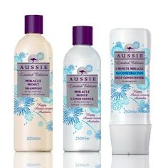 Miracle Moist Shampoo & Conditioner for hair that's dry/damaged /a bit unhappy .