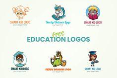 Free Education Logo Templates   GraphicMama Education Logo, Free Education, Logo Smart, Unicorn Logo, Credit Companies, 7 Logo, Free Logo Templates, Free Web Fonts, Kids Logo
