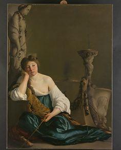 "The Disillusioned Medea (""The Enchantress"") Paulus Bor (Dutch, Amersfoort ca. 1601–1669 Amersfoort), ca. 1640"