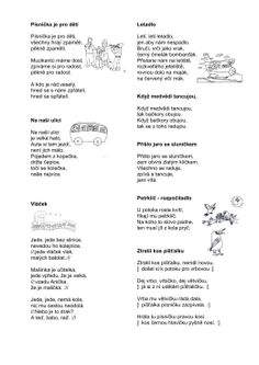 Knížka básniček a říkadel pro děti TJ SPV Dýšina – R+D Personalized Items