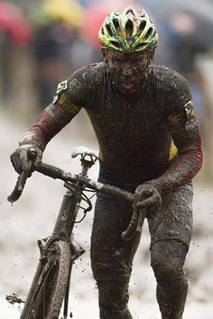 Go try cyclocross, they said.  It will be fun, they said.  Sven Nys