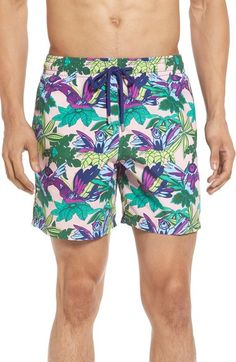 Vilebrequin 'Moorea - Forest Paradise' Swim Trunks available at #Nordstrom