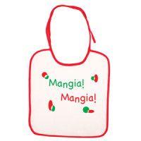 Baby Bib – Mangia Mangia