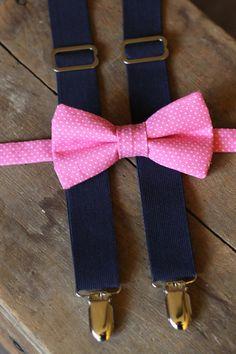 Self tie bow tie - Solid, matte, dusky old pink basket weave Notch