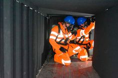 Confined Space Entry Training is an extremely dangerous Venture since the dangers faced are extremely large and may be deadly   the majority of the times. Mechanical Advantage, Confined Space, Safety, Training, Times, Link, Security Guard, Work Outs, Excercise