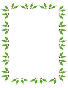 Christmas Clip Art Borders   IMAGES