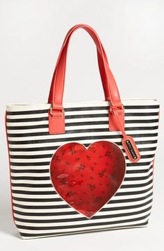 Burglartote!  Betsey Johnson 'Cut It Up' Tote available at #Nordstrom
