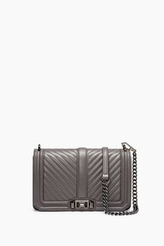 ae6151ab773 REBECCA MINKOFF Chevron Quilted Love Crossbody.  rebeccaminkoff  bags   shoulder bags  leather