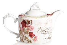 Flower Teapot on One Kings Lane today  @Lea Fredrickson Hemsing @renée hemsing