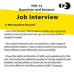 We why hire Job Interview Answers, Job Interview Preparation, Interview Skills, Job Interview Tips, Job Interviews, Resume Skills, Job Resume, Resume Tips, Resume 2017