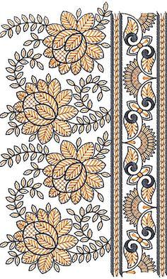 Beatifull Lace Border Embroidery Design