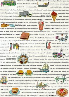 1964 Worlds Fair Food 2    Seventeen magazine February 1964