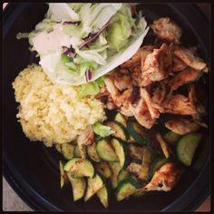 Chicken, squash... Healthy!