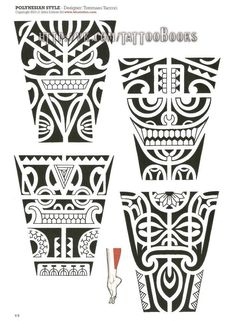 Tribal Maori and Polynesian Maori Tattoos, Maori Tattoo Frau, Tribal Back Tattoos, Marquesan Tattoos, Samoan Tattoo, Leg Tattoos, Sleeve Tattoos, Polynesian Tattoo Designs, Polynesian Tribal